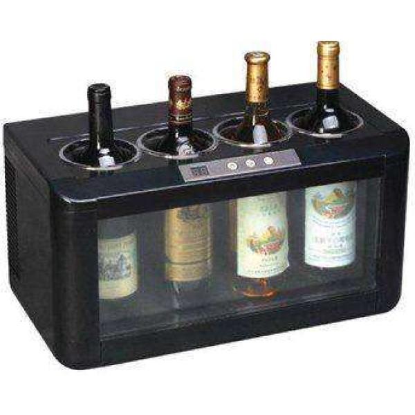 Wine in the city - יין בעיר | מקרר יין 4 בקבוקים להגשה פוקסין