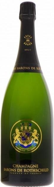 Wine in the city - יין בעיר | בארונס דה רוטשילד ברוט שמפיין מגנום 1.5 ליטר