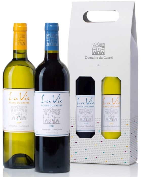 Wine in the city - יין בעיר | מארז זוג קסטל לה וי